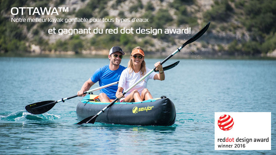 Ottawa kayak Red dot Award